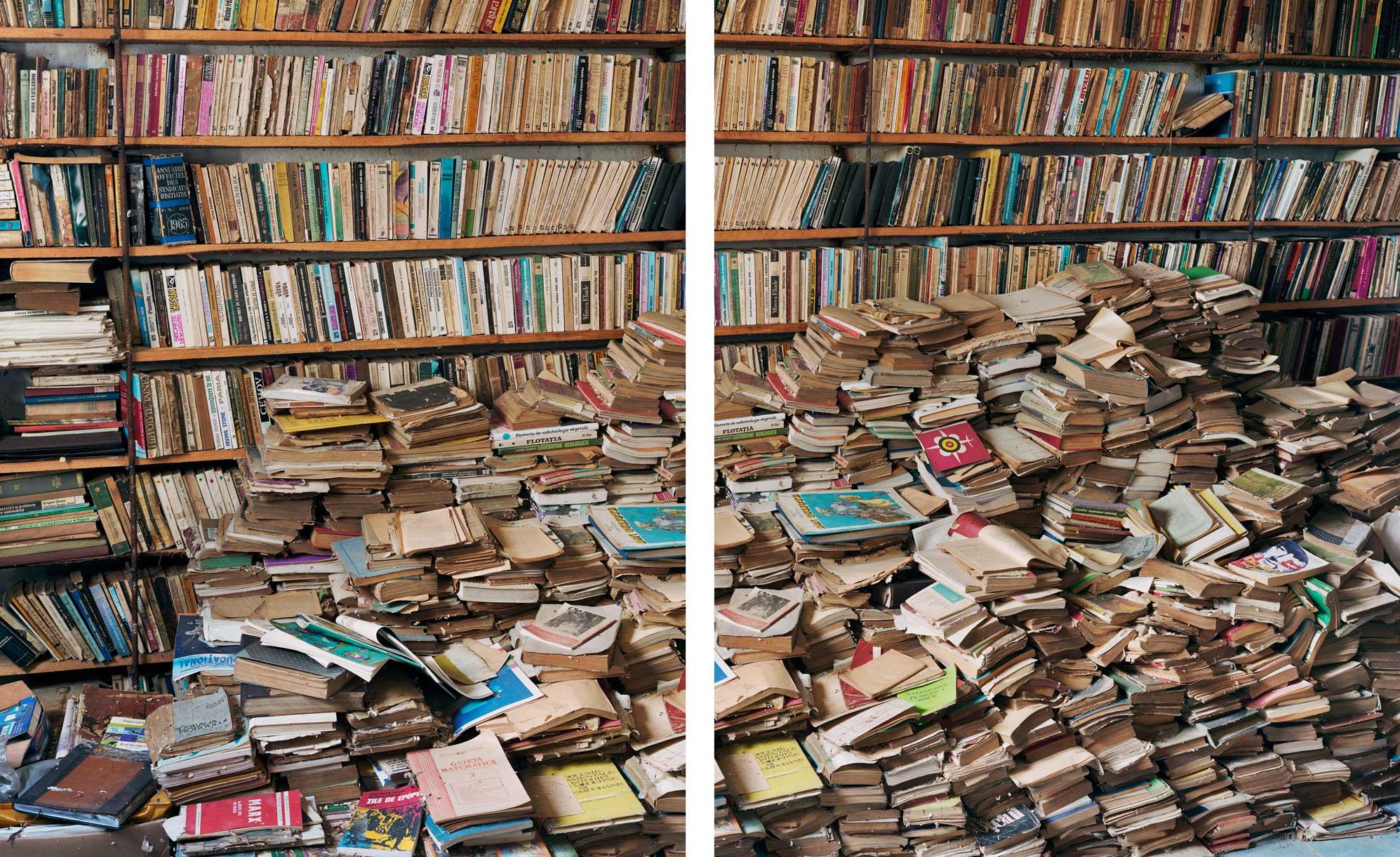 Irineu's Library. Giurgiu. Romania. (Courtesy Eidos Foundation)