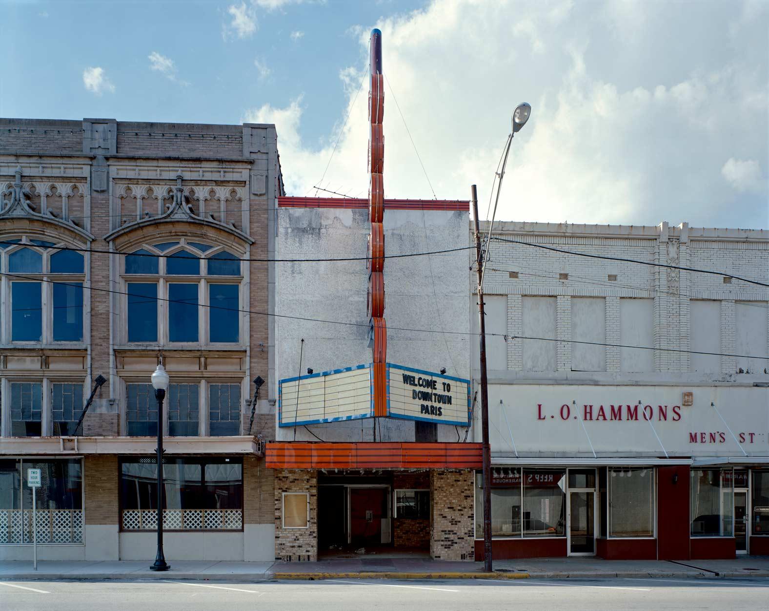 Grand Twin Cinema, Paris, TX, 2006