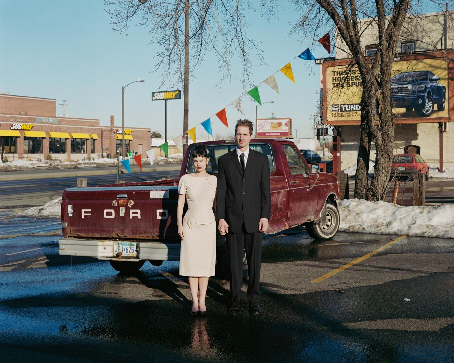 Pamela & Allen, 1988 Ford F-150, 2007