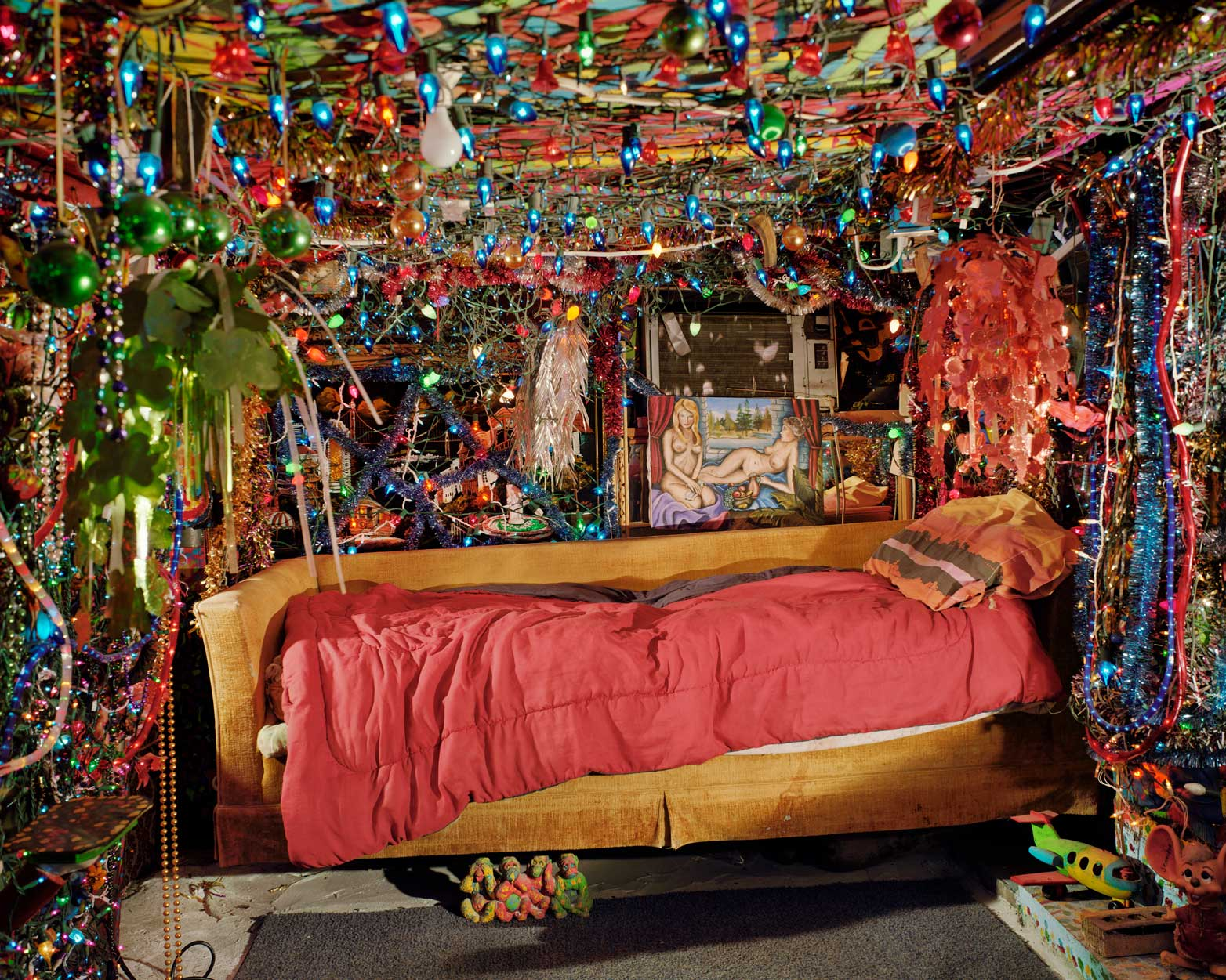 Herman's Bed, Kenner, LA, 2002