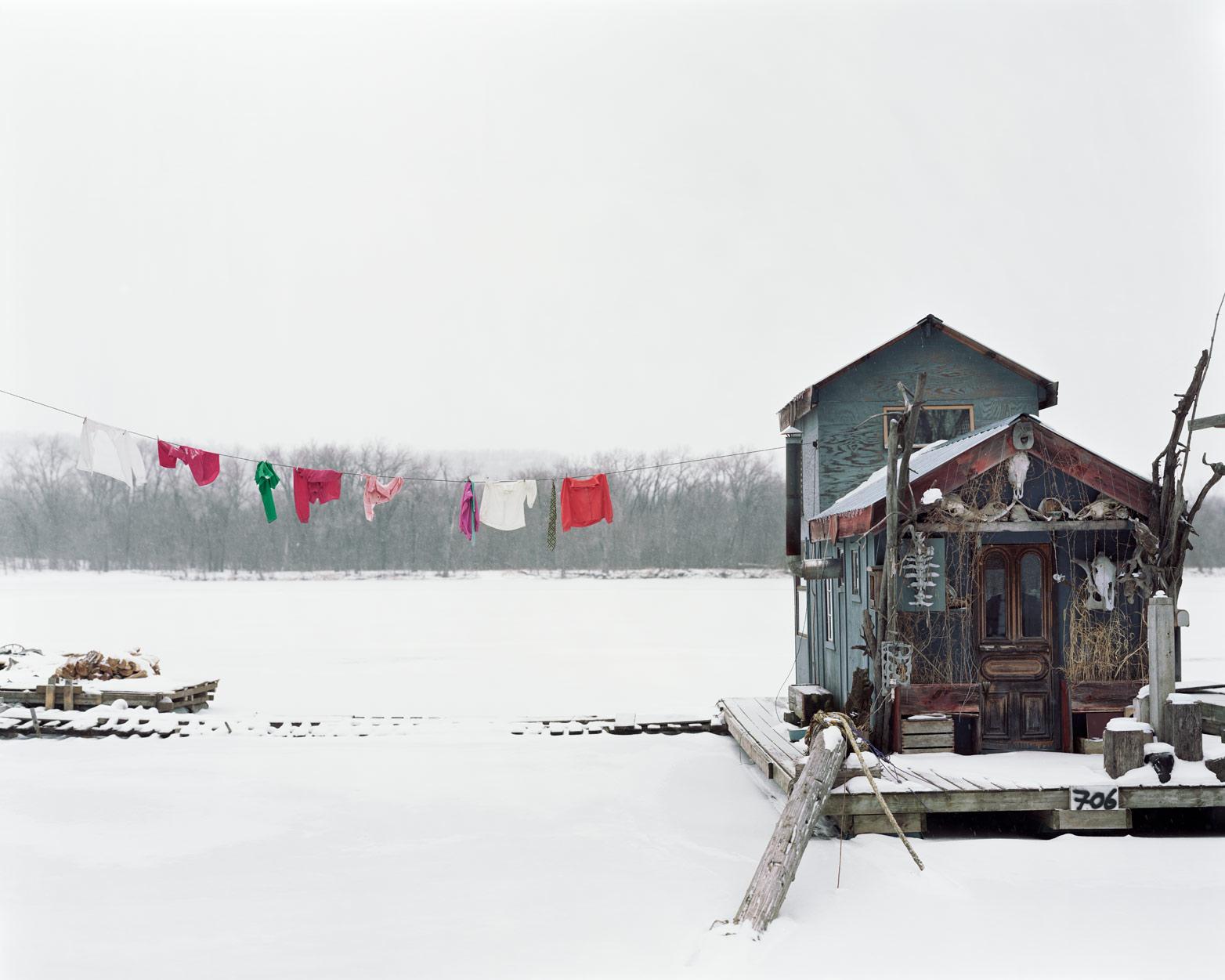 Peter's Houseboat, Winona, MN, 2002