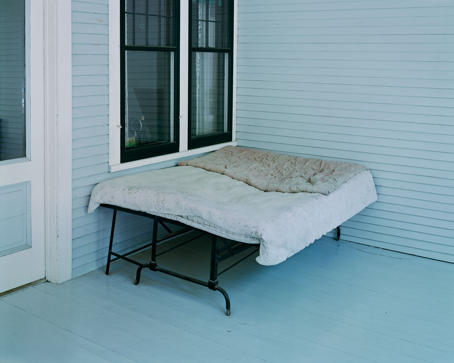 Charles Lindbergh's Boyhood Bed, Little Falls, MN, 1999