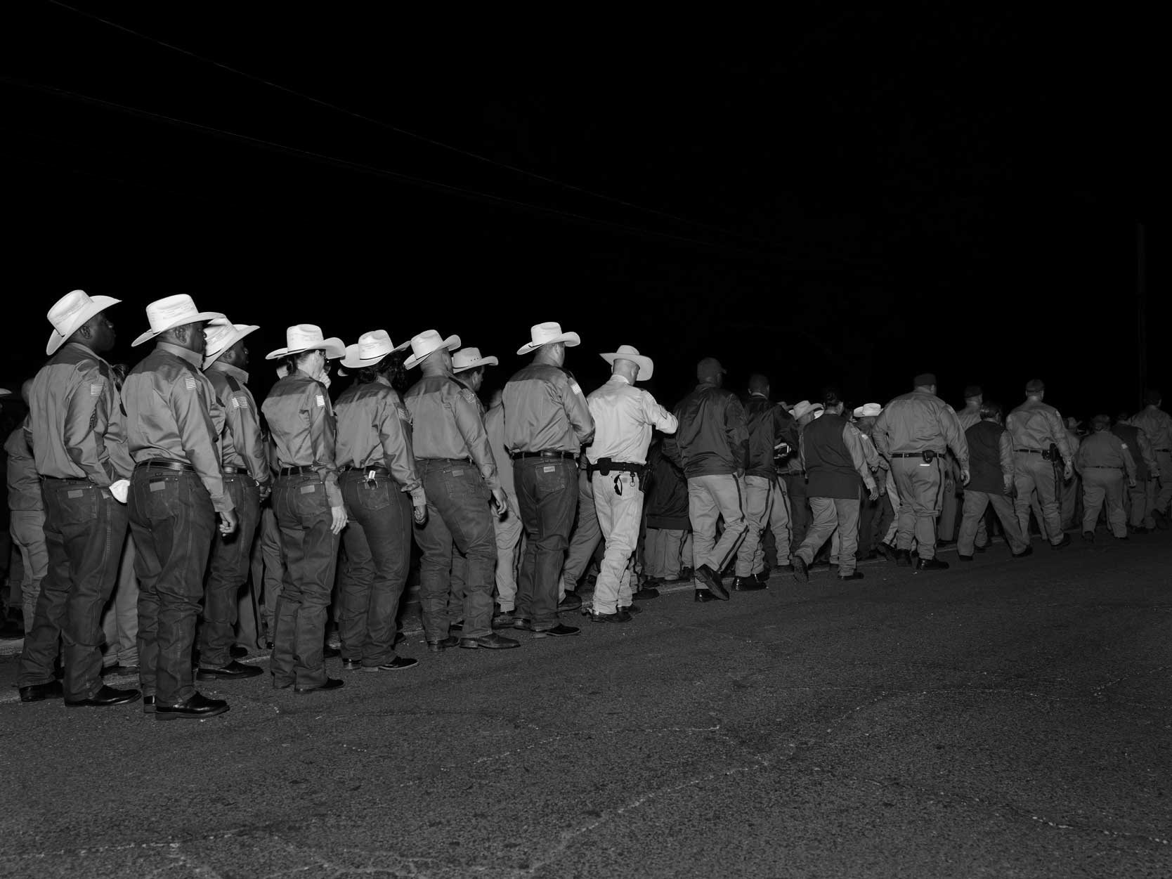 Execution. Huntsville Prison. Hunstville, Texas.