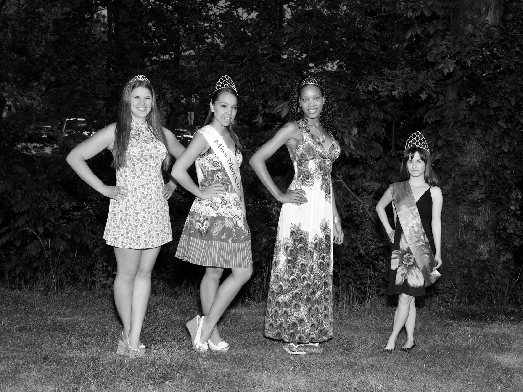 Miss Model Contestants. Cleveland, Ohio.